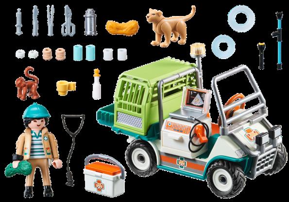 Vétérinaire et véhicule tout terrain (1)